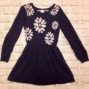 GYMBOREE Navy blue Girls know dress Size 7
